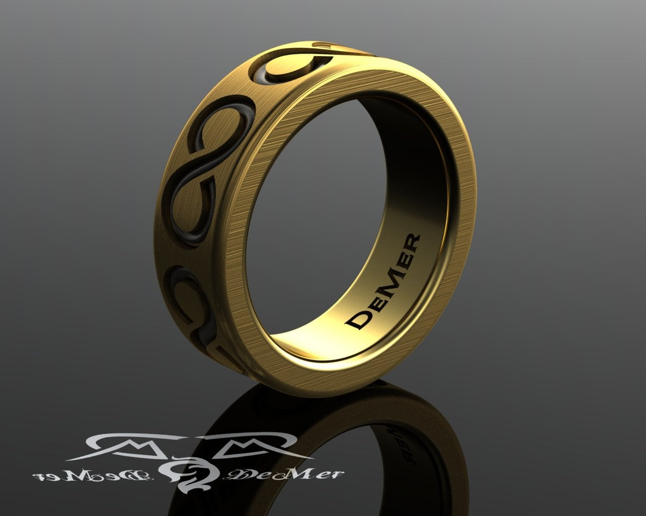 products tungsten mens ring bands yellow carbide band man brushed black wedding gold and with