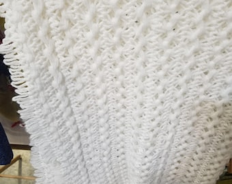Hairpin Lace Shawl/Blanket