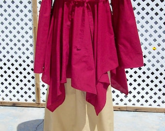 2 Piece Chemise Renaissance Dress