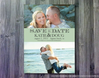 Two Photo Save the Date | SD18
