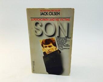 Vintage Non-Fiction Book Son by Jack Olsen 1985 Paperback True Crime