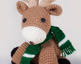 Crocheted Reindeer Pattern
