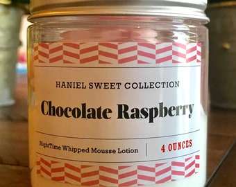 NightTime Whipped Lotion- White Chocolate Raspberry