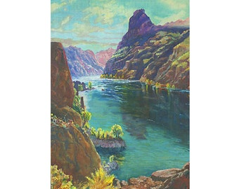 Lower Colorado Giclee Fine Art Print of Original Oil Painting