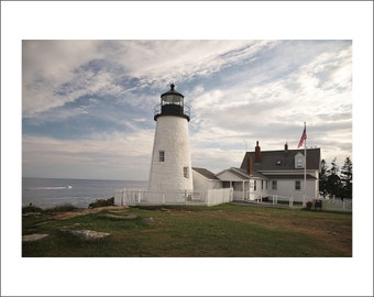 Pemaquid Point Lighthouse - Maine - Color Photo Print - Fine Art Photography (LM07)