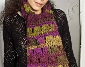 Crochet Chunky Scarf