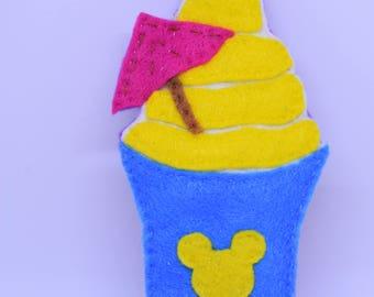 Disney Pineapple Dole Whip Cat Nip Toy
