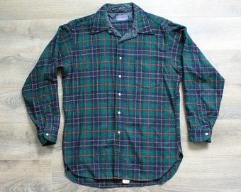 Vintage Pendleton 100% Pure Virgin Wool Shirt, Men's Large