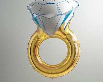 Wedding or Engagement Ring Giant Foil Balloon 103cm