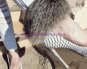 Silver Fox fur cuff