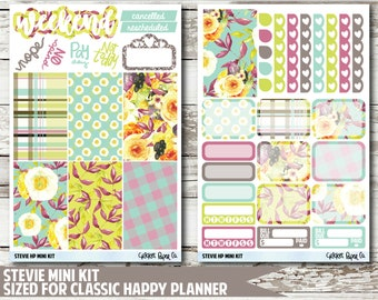Stevie CLASSIC HAPPY PLANNER Stickers