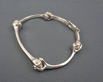 Large Men's Bone Link Bracelet