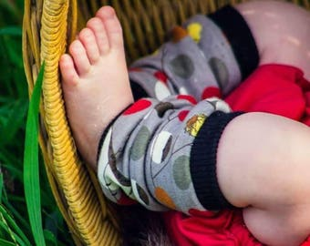 Organic Newborn  leg warmers, Organic  baby leg warmers