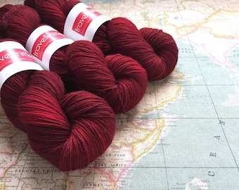 BFL Supersock British Bluefaced Leicester / Nylon sock yarn - Queen of Hearts