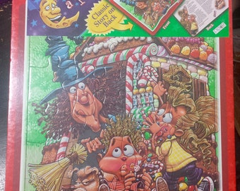"Puzzle And Story - Once Upon A Puzzle  ""Hansel and Gretel"" Still Sealed Never Used"