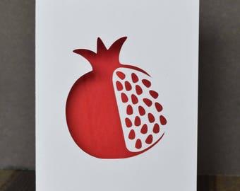 Armenian Theme Postcards, Pomegranate, Armenian Letter A, Pom Tree, Armenian Alphabet (pack of 4)