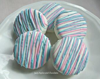 Gender Reveal Oreo Cookies. It's a Boy, It's a Girl