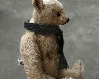 Phinneaus Old World Artist Bear PDF Pattern by Aerlinn Bears