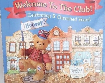 Cherished Teddies Membearshipbox 1999 Kan nu NEW!