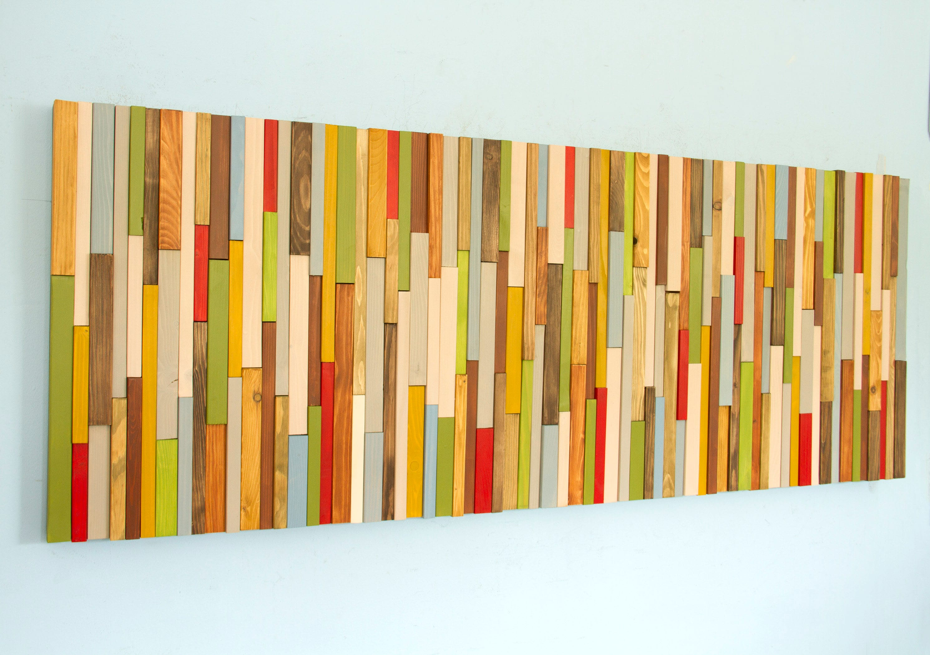Exelent Painted Wood Wall Art Festooning - The Wall Art Decorations ...
