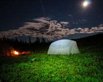 Lure of the Wild Fine Art Photography Home Decor Wilderness Nature Moon Camping Outdoors Bathroom Office Kitchen Decor