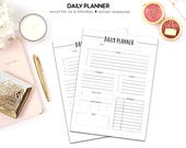Daily Planner, Printable ...