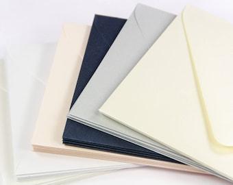 25 - A7.5 Metallic Euro Flap Envelopes - 5 1/2 x 7 1/2