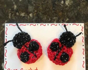 Lovely Ladybug Bows