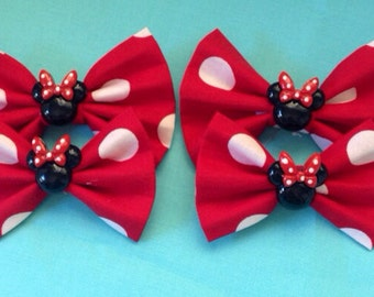 Minnie bow bunch (includes 2)