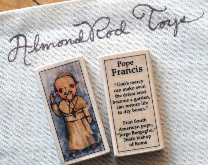 Pope Francis Block