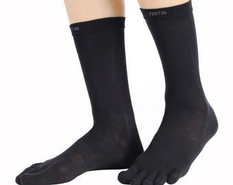 TOETOE - Outdoor - Wool Mid-Calf Toe Socks