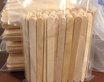 "100 ct Popsicle Sticks / Craft Sticks 4 1/2"" x 3/8"""
