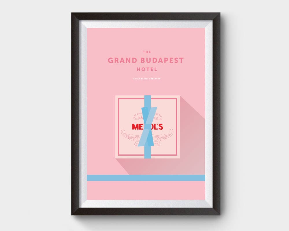 Grand Budapest Hotel Quotes The Grand Budapest Hotel Mendl's Box Movie Poster Art