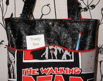 The Walking Dead themed purse/handbag