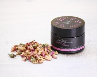 Face cream for dry skin rosewood-sandalwood
