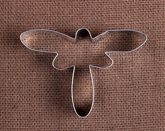 Dragonfly Cookie Cutter, Bug Cookie Cutter, Metal Cookie Cutters, Summer Cookie Cutters, Sugar Cookie Cutters, Insect Cookie Cutters
