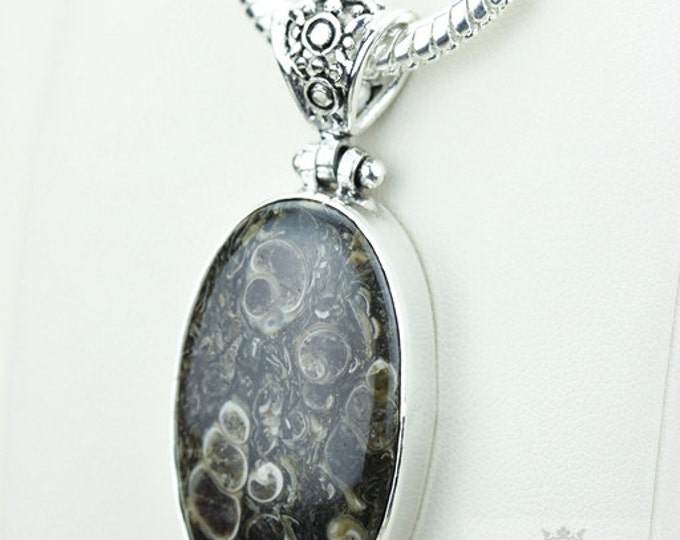 Turtella Jasper 925 S0LID Sterling Silver Pendant + 4MM Snake Chain & Free Worldwide Shipping p3586