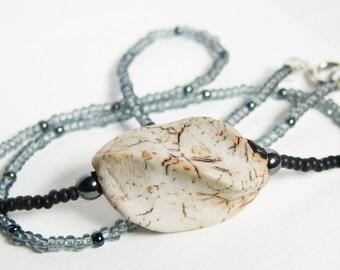 Porcelain Twist Necklace