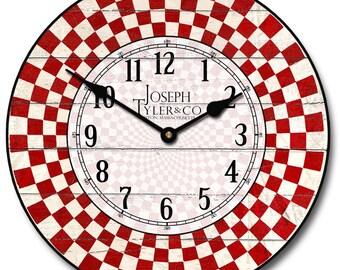 Fifties Diner Wall Clock