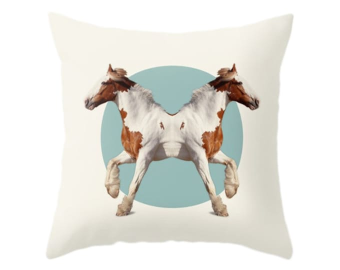 Horses Pillow - Double Animals