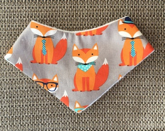 FEELING FOXY pet bandana, pet neckwear, dog bandana, cute, modern
