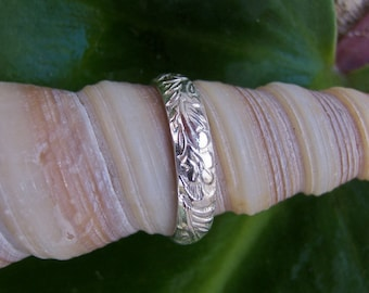 Sterling Silver Band, Silver Ring, Wedding Band, Silver Wedding Ring, Silver wedding Band