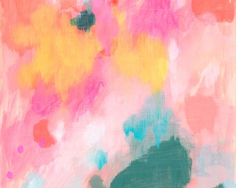 abstract fine art print . hopeful . a4 - large format, 5 sizes . free shipping within australia