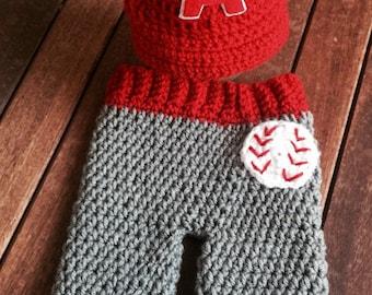 Los Angeles Angeles badeball, baby baseball cap pants set