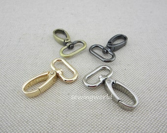 10 pcs Purse Hardware Snap Hooks 3cm diameter
