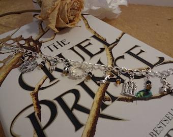 The Cruel Prince Inspired Metal Charm Bracelet