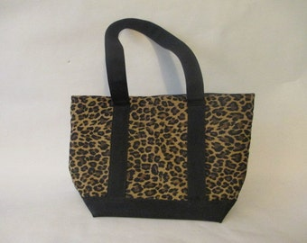 Ann Taylor Leopard Animal Print Purse