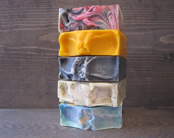 You Choose 5 Bars for 20.00 ~ Cold Processed Soap