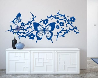 Wall decal BUTTERFLY DECOR, wall stickers for bedroom, living rooms, kitchens, kid rooms, quality vinyl stickers, vinyl decal