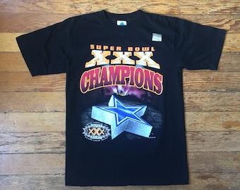 DEADSTOCK 1996 NFL Dallas Cowboys Super Bowl XXX Champions